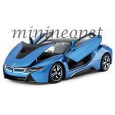 RASTAR 56500 BMW i8 1/24 DIECAST MODEL CAR BLUE