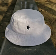 Polo ralph Lauren Bucket Hat White Authentic (BRAND NEW IN PACKAGE)