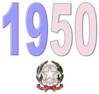ITALIA Repubblica 1950 Singolo Annata Completa integri MNH ** Tutte le emissioni