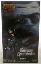 BBI Blue Box Toys Elite Force Terminate Sniper Assassin Lucifer 1/6 Figure New