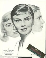 Joanne Woodward The Three Faces Of Eve 1962 Film Star Portrait Print