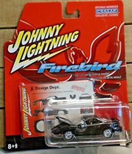 JOHNNY LIGHTNING CRAGAR FIREBIRD 2001 PONTIAC TRANS AM 1:64 DIE CAST CAR BLACK