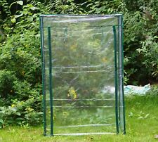 Garden Vegetables Tomato Grow Greenhouse Frame and Reinforced PVC Weather Cover