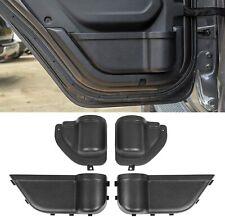 Front & Rear Door Pocket Storage Box Organizer for Jeep Wrangler JL 2018+ 4Door