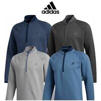 adidas Golf Mens Club 1/4 Zip Classic Style Pullover Sweater / NEW 2020