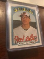 2013 Topps Archives Orioles Manny Machado RC #27