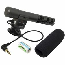 SG-108 Stereo Video Shotgun Microphone for DSLR Camera DV Camcorder UK Seller