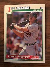 1991 Score Rookie Prospect Jeff Mckight Baltimore Orioles 369