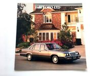 1986 Ford LTD 16-page BIG Original Car Sales Brochure Catalog - Brougham Wagon