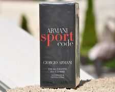 Armani Sport Code Giargio Armani edt 50 ml 1.7 oz Sealed
