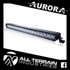 "AURORA 20"" SINGLE ROW LED LIGHT BAR - 100 WATT COMBINATION COMBO SPOT DRIVING"