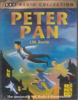 J M Barrie Peter Pan 2 Cassette Audio Book BBC Radio 4 Drama FASTPOST