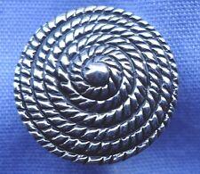 15mm Silver Shank Button (x 2 buttons)