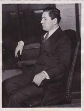 """JAKE """"THE BARBER"""" FACTOR Mobster Gangster VINTAGE 1930s press photo * RARE"""
