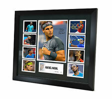 Rafael Nadal Signed Photo Framed Memorabilia Limited Edition + COA