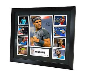 Rafael Nadal Signed Photo Framed Memorabilia Limited Edition + COA