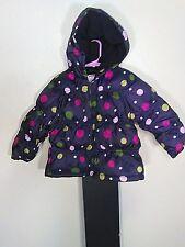 Gymboree 2/3T Girls Puff Winter Snow Coat Jacket With Hood
