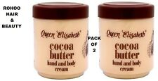 2 X Queen Elizabeth Manteca De Cacao, Manos Y Cuerpo Crema 500ml