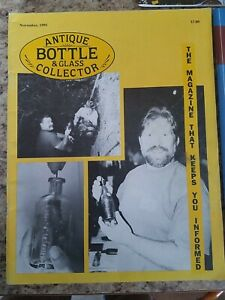 Lot of 5 Antique Bottle & Glass Collector Magazine 1995 - 2019