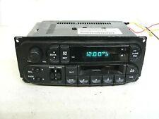 Dodge Chrysler Jeep radio cassette RAS 98-01 Caravan Sebring Ram P56038931 OEM