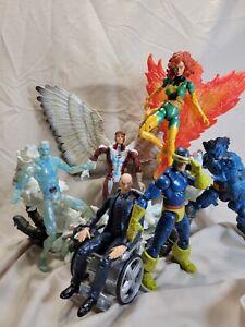 Marvel Legends X-Men Cyclops Phoenix Beast Angel Iceman Sentinel Series BAF