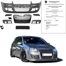 VW Golf 5 V Front parachoques wabengitter sin emblema + accesorios para GTI r32+ * Abe