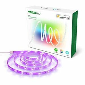 HomeKit LED Strip Lights, VOCOlinc Smart Wi-Fi Multicolor and Whites Dimmable,