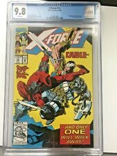 X-Force 15 Deadpool Vs Cable Cover CGC 9.8 Key Sunspot Joins, 1992