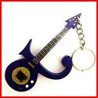 PRINCE GUITARE MINIATURE PORTE CLE Collector LOVE SYMBOL PURPLE Funk Rock rain 2