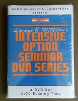 New Factory Sealed - Lawrence McMillan's Intensive Option Seminar: 4 DVD Series