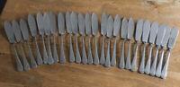 VINTAGE JOBLOT Stainless Steel FISH KNIVES MODERNIST X24