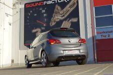FMS 90mm Duplex Scarico Sportivo v2a Opel Corsa e OPC (S-D, 14 -) 1.6l Turbo 152kw