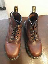 Dr. Martens Mens/Womens Brown Boots EUC US Men's 7 /US Women's 8/ UK 6