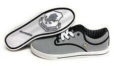 Mens Vlado Spectro 3 IG-1063-32 Grey White Black Canvas Sneakers Shoes