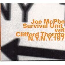Joe McPhee & Survival Unit II-N.Y. N.Y. 1971-CD-Nuovo/Scatola Originale
