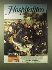 1989 Tetley Tea Ad - the Savannah, Georgia Police Department