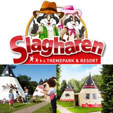 Kurzwoche Mo-Fr Urlaub Wigwam Deluxe Freizeitpark Slagharen 2 Erw. max. 4 Kdr.