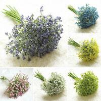 Artificial Plastic Flowers Gypsophila Fake Bouquet For Bride Wedding Home Decor~