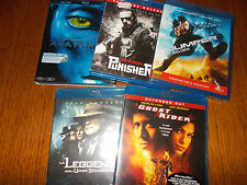 LOTTO 11 BLU RAY SUICIDE SQUAD AVATAR L'INCREDIBILE HULK GHOST RIDER PUNISHER