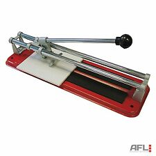 Faithfull Tile Cutter 300mm - Push Action Ceramic Cutting Cuts 8mm Thick Tiles
