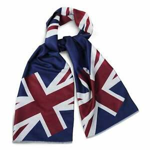 Union Jack Scarf.  Soft Viscose thin winter scarf    Exclusive