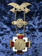 Jerusalem King David and Goliath Weightlifting 1923 Germania Sport Club medal