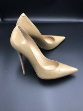 91d1cc02263 Jimmy Choo  anouk  Nude Patent Court Heels Pumps Stiletto Shoes Size Uk ...