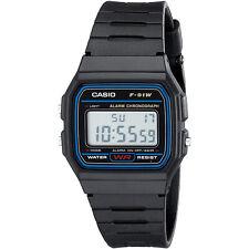 Reloj de Pulsera Digital Casio Casio F91W Original Retro Unisex Negro - Calidad