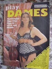 Vintage Glamour Magazine  Number 82  1987