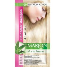 Marion Hair color shampoo sachet (lasting 4-8 washes) Aloe & Keratin 69
