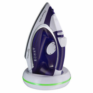 Freedom Cordless Rechargeable Ceramic Non Stick Soleplate Iron with 300ml Tank
