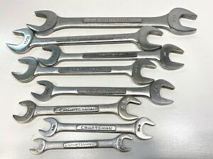 Craftsman Open End 8 Wrench Set USA