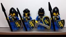 Lego CASTLE CRUSADER ROYAL GRIFFIN BLUE KNIGHTS Minifigs NEW made from Stickers