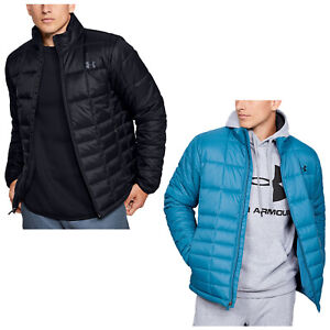 Under Armour Mens Insulated Full Zip Jacket UA Golf Thermal Warm Coat Top